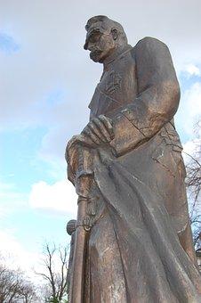 Monument, Pilsudski, Character, The Statue, The Hero