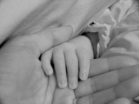 Mother, Baby, Hands, Birth, Love, Child, Children