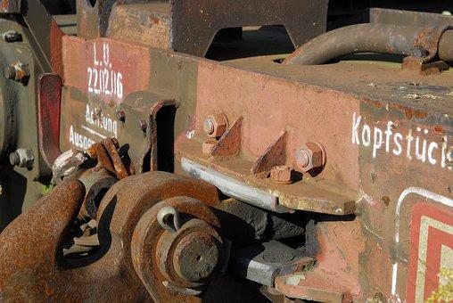 Railway, Wagon, Train, Transport, Old, Goods Wagons