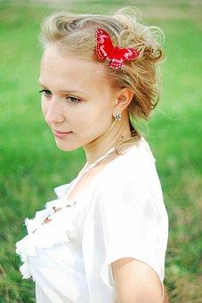 Girl, Blonde, Summer, Portrait, Model, Beauty, Young