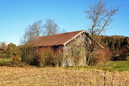 Log Cabin, Hut, Wood, Scale, Scheuer, Barn, Nature, Old