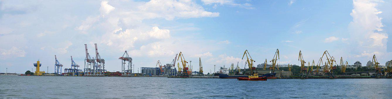 Sea port, Sea, Yalta, Landscape, Black Sea, Vacation