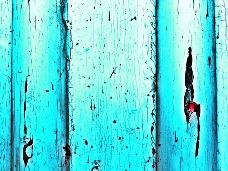 Door, Shabby Chic, Turquoise, Blue, Background
