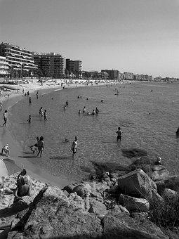 Costa, Platja D'aro, Beach, Sand, Sea, Summer, Season