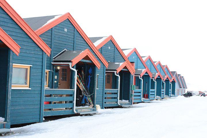 Svalbard, Svalbard And Jan Mayen, Longyear, At Home