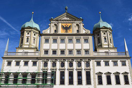 Town Hall, Augsburg, Town Hall Of Augsburg, Tower