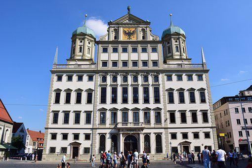 Augsburg, Town Hall, Town Hall Of Augsburg