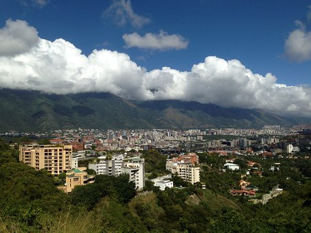 Caracas, City, Valley Above