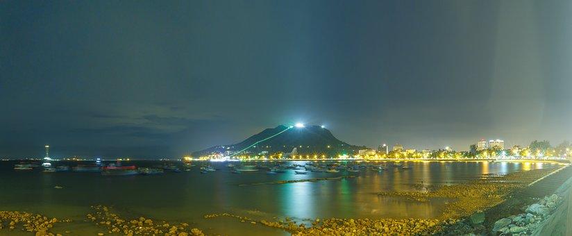 Vung Tau, The Sea, Mountain, Rock, Scenery, Exposure