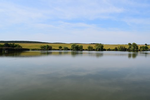 Lake, Water, Blue, Nature, Lakeside, Waterfront, Sky