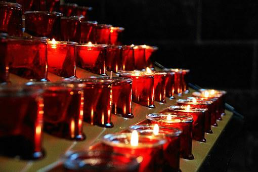 Church, Candles, Faith, Prayer, Lights, Victim Candles