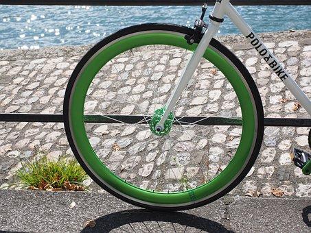 Wheel, Rim, Impeller, Front Wheel, Road Bike, Bike