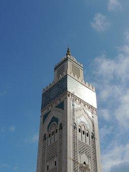 Hassan 2 Mosque, Mosque, Casablanca, Hassan, Morocco