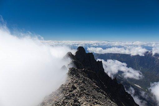 Gendarme, Mountain, Northern Alps, Cloud, Landscape
