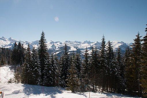Switzerland, Mountains, Ski, Snow, Winter, Hills