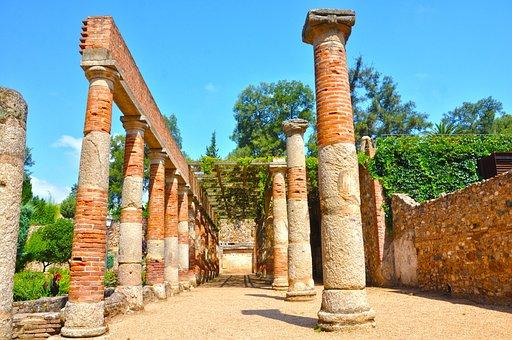 Merida, Hispania, Rome, Theatre, Art, Extremadura, Old