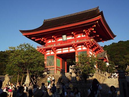 Kyoto, Pagoda, Japan, Japanese, Temple, Shrine