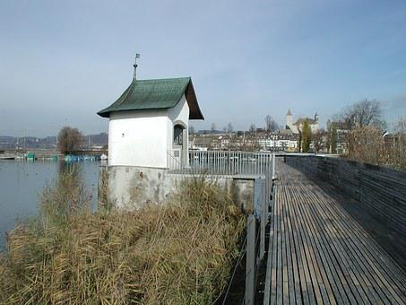 Rapperswil Jona, Switzerland, Lake Zurich, Canton St
