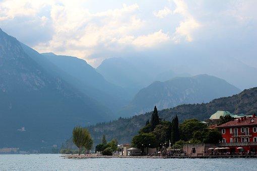 Riva Del Garda, Garda, Lakeside, Italy, Monte Brione