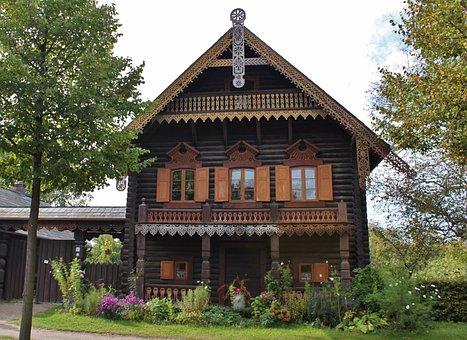 Potsdam, Alexandrowka Russian Colony, Russians Houses