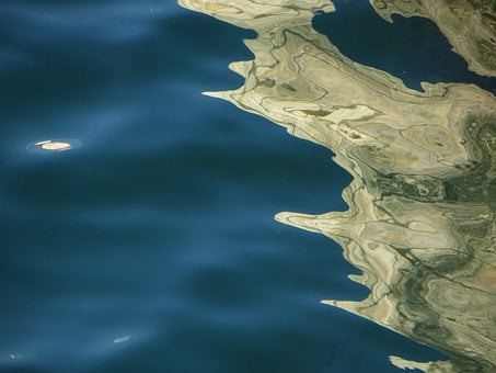 Water, Reflections, Scenery, Landscape, Sea, Calm
