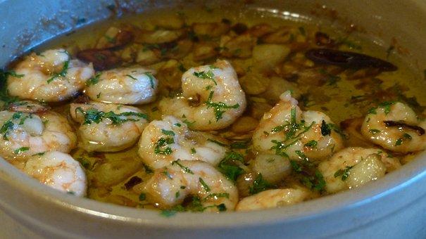 Scampi, Eat, Soup, Starter, Shrimp, Food, Delicious