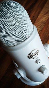 Microphone, Blue Yeti, White