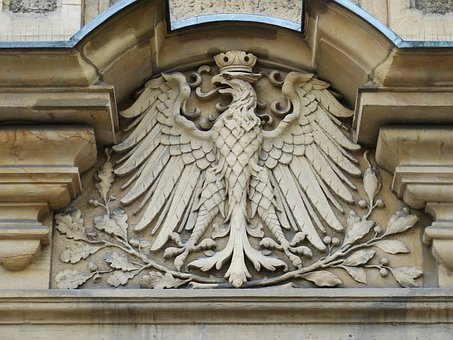 Adler, Bird Of Prey, Imperial Eagle, Heraldic Animal