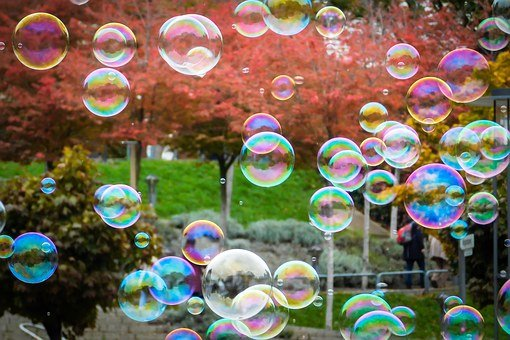 Soap Bubbles, Blow, Balls, Flying, Float, Ease