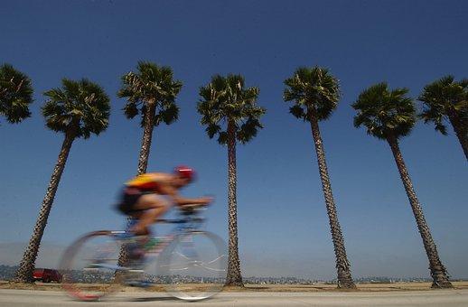 San Diego, California, Bicycle, Bike, Rider, Man