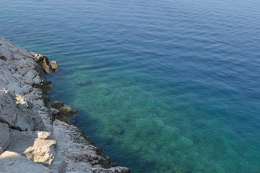 Sea, Croatian Coast, Croatia, Coast, Adriatic Sea, Rock