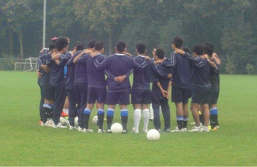 Football, Coaching, Team, Play, Game, Sports