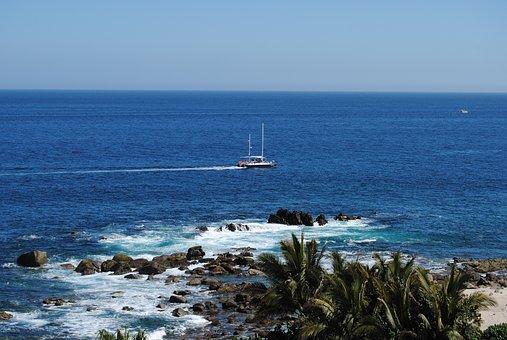 Cabo San Lucas, Sea Of Cortez, Ocean, Boat, Holidays