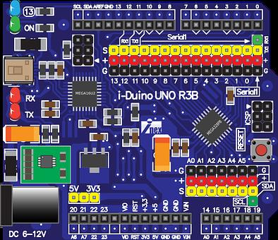 Iduino Uno R3b, Iduino Uno, Iduino, Microcontroller