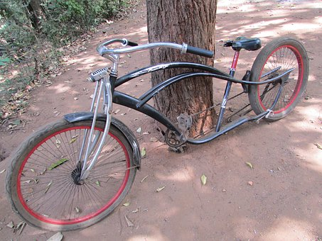 Bicycle, Bike, Old, Vintage, Dandeli, India