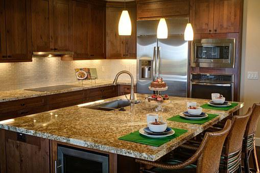 Kitchen, Home, Luxury Home Interior, Kitchen Cabinets