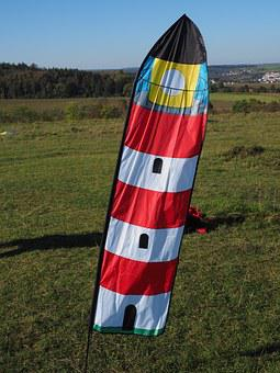 Wind Vane, Flag, Lighthouse, Wind Direction Sensor