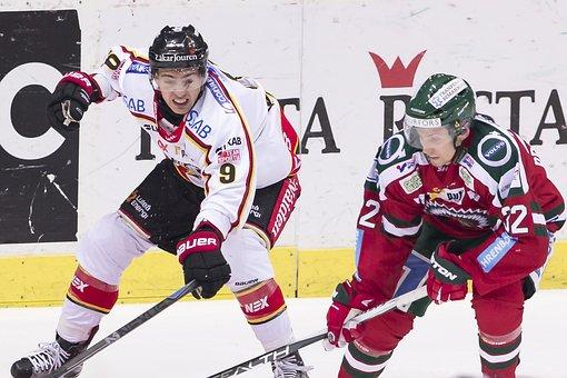 Lucas, Sports, Johan F, Luke B, Frölunda, Luleå