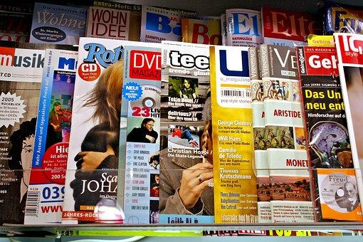 Magazines, Magazine, Journalism, Press, Newspaper