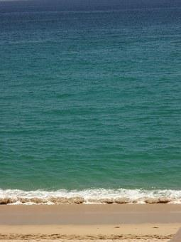Ocean, Waters, Blue, Cabo San Lucas, Medano Beach