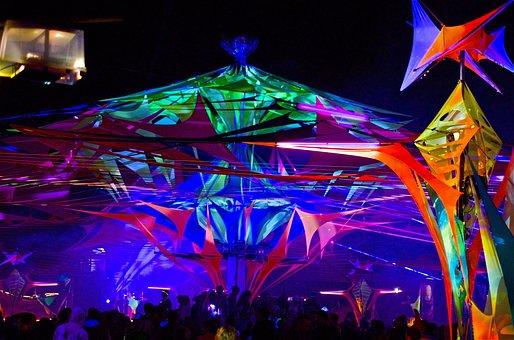 Music, Goa, Festival, Color, Dance, Trance