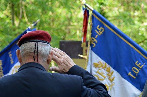 Tribute, Commemoration, War, Normandy, Soldier