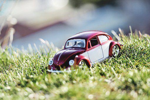 Nature, Red, Summer, Car, Vehicle, Grass, Design, Color