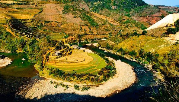 Yen Bai, Travel, Jasmine, River, Beauty In Nature