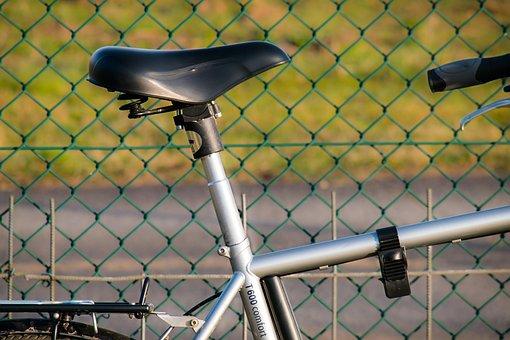 Bike, Saddle, Bicycle Saddle, Frame, Wheel
