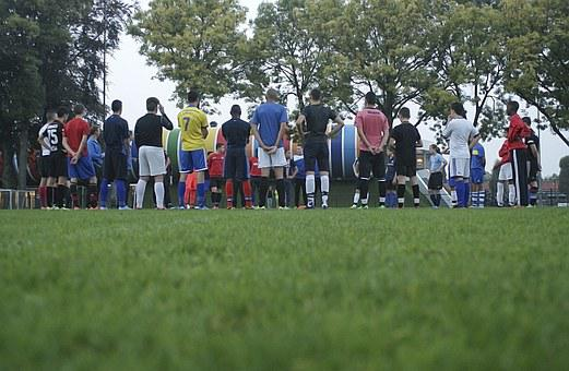 Football, Play, Game, Sports, Coaching, Team, Warm Up