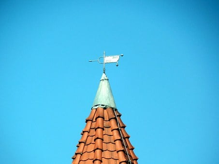 Wind Vane, Wind Direction, Wind, Weather, Weathervane