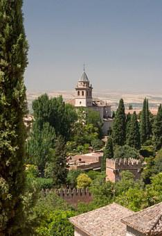 Alhambra, Church, Granada, Spain