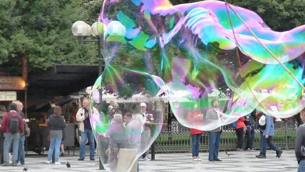 Soap Bubbles, Colorful, Iridescent, Color, Float, Art