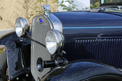 Auto, Oldtimer, Automotive, Vehicle, Classic, Spotlight